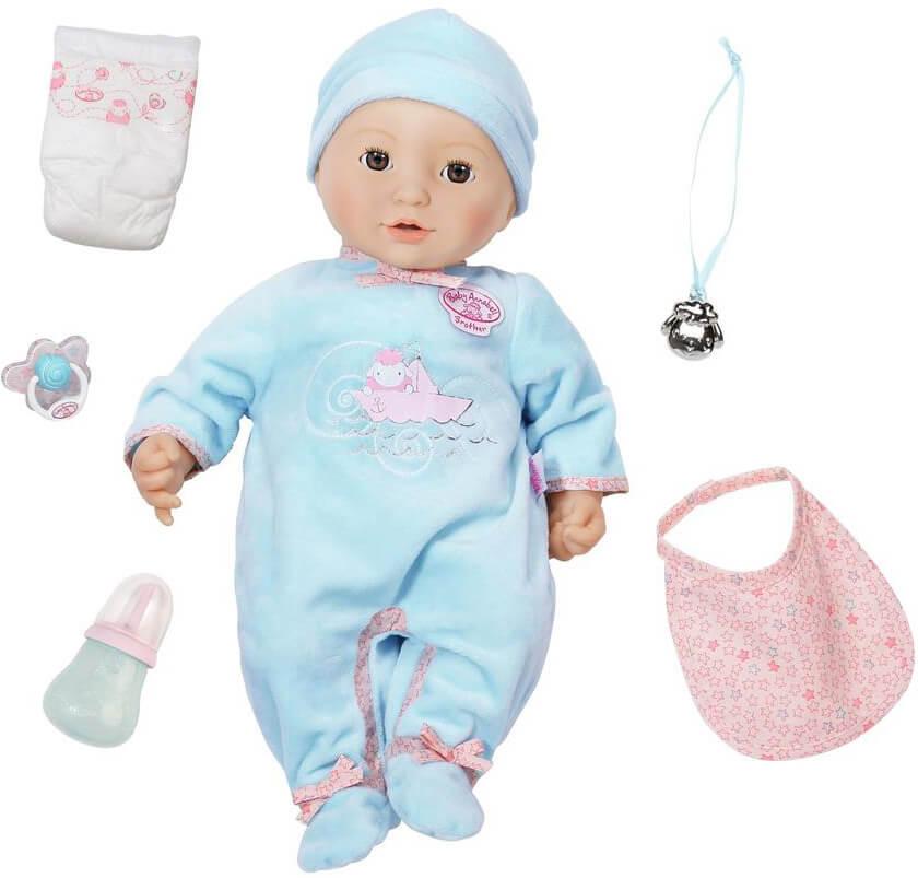 - REA - Baby Annabell Interaktiv Docka Bror till Annabell Zapf Creation - REA -