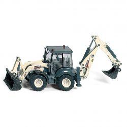 Traktorgrävare Terex. Siku. 1:50.