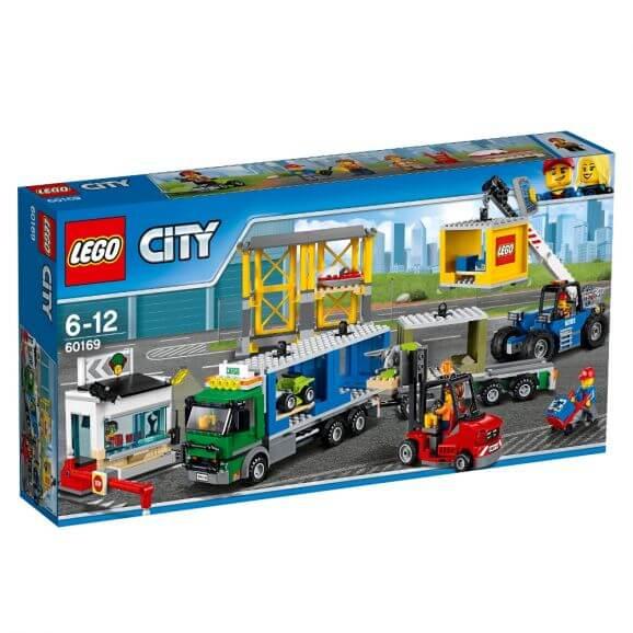 LEGO City 60169 Lastterminal
