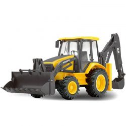 Radiostyrd Volvo traktorgrävare 1:18
