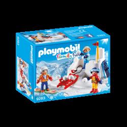 Playmobil Snöbollskrig 9283