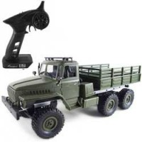 Lastbilar och bilar radiostyrda