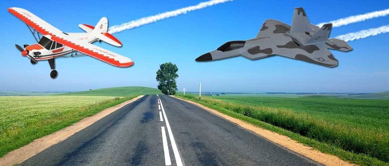 Radiostyrda flygplan
